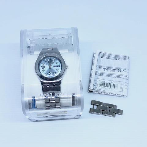 Jam Tangan Swatch Stainless Steel YLS702G Original Second