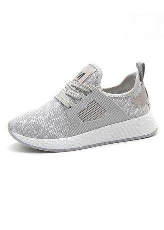 Knitted And Breathable Sports Shoes
