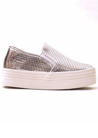 Korean Spring And Summer Thick Leather Breathable Slip-on