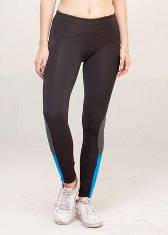LEE VIERRA - Sappire Black Tight Excel F​/​L Pants Celana Olahraga Wanita