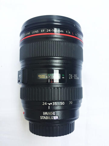 LENSA CANON 24-105mm F4 L IS KODE UY Bukan 50mm, 35mm, 70-200mm