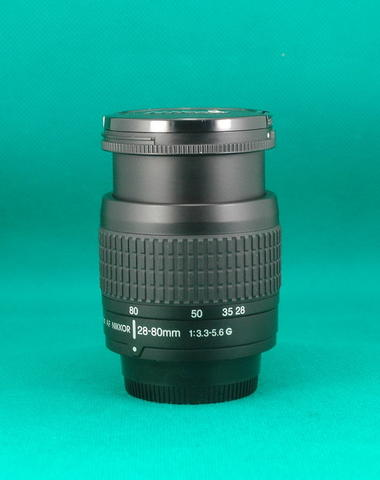 Lensa Zoom Nikon AF 28-80 mm F 3.3-5.6 G Black Edition