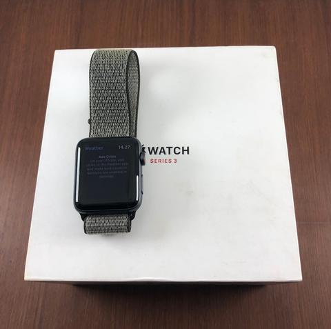 MURAH: Apple Watch Series 3 GPS+Cell Space Grey Mulus Fullset Bandung