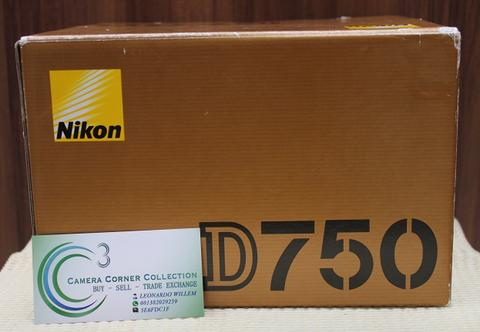 NIKON D750 BODY ONLY - BRAND NEW OPEN BOX