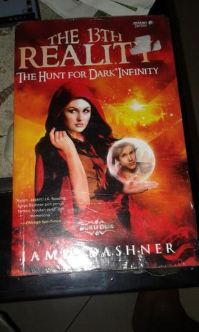 Novel The 13th Reality The Hunt for Dark Infinity by James Dashner