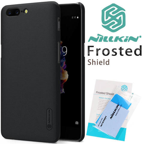 OnePlus 5 - Five 6 - Six Casing Case Screen Lensa Protector Nillkin Terlengkap BDG