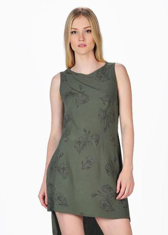 SJO's Savona Olive Women's Dress