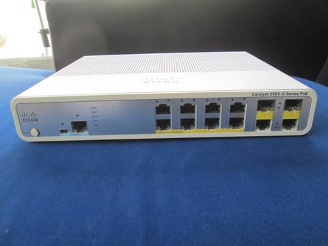 Switch Hub POE Cisco WS-C3560C-8PC-L 8 Port Cocok Buat CCTV , Access Point n Ip Phone