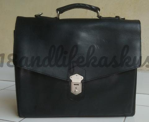 TAS KULIT LEATHER BRIEFCASE BREE MADE IN POLAND
