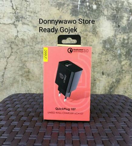 UNEED Wall Charger Qualcomm QuickCharge 3.0 UCH107 Xiaomi Samsung S8