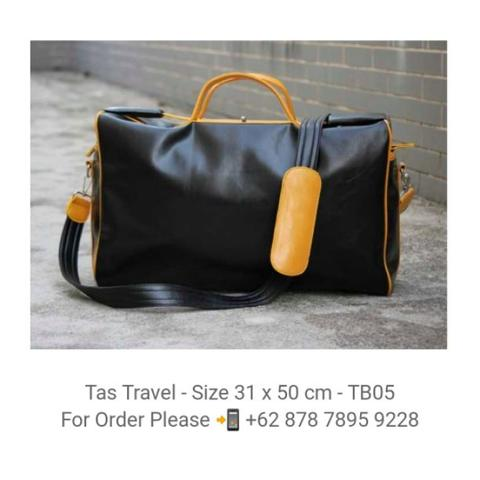 Tas Travel Kulit Import - TB05