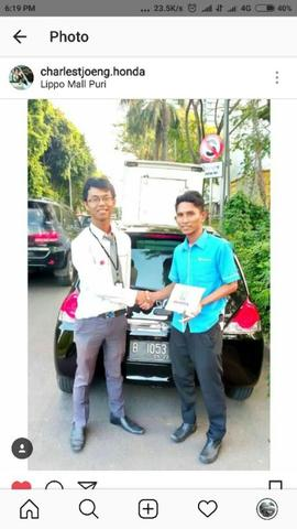Cash/Kredit HONDA BRIO MOBILIO JAZZ CRV BRV HRV S E RS MT AT TURBO PRESTIGE CVT 2018