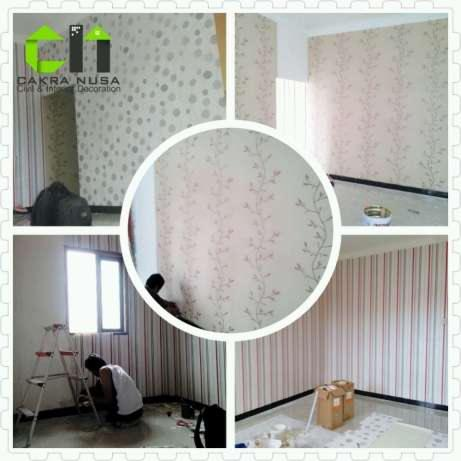 Wallpaper Dinding Sebagai Home Decor