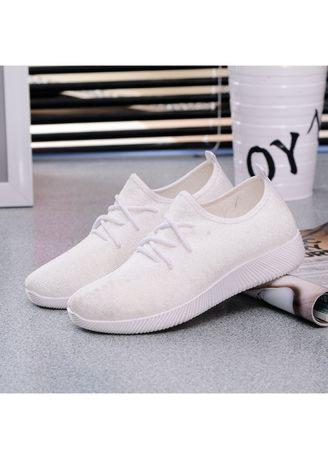 Women Awesome Casual Comfortable Solid Color Light Sports Running  Shoe