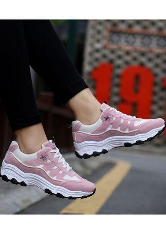 Women casual shoes with rubber sole