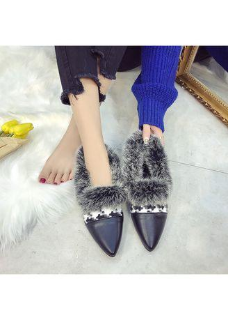 Yyo5 Women Single Casual Sexy Feather Low Heel Roman Holiday Beach Shoes