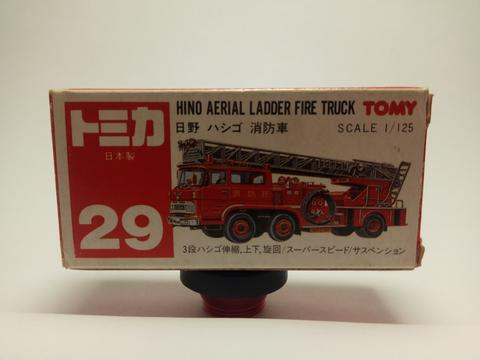 Tomy red (japan) Hino Aerial Ladder Fire Truck