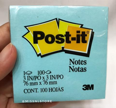 Post It 654 Sticky Notes Blue