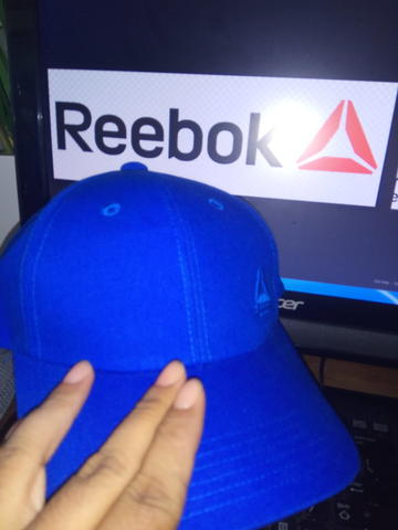 Topi reebok original blue only