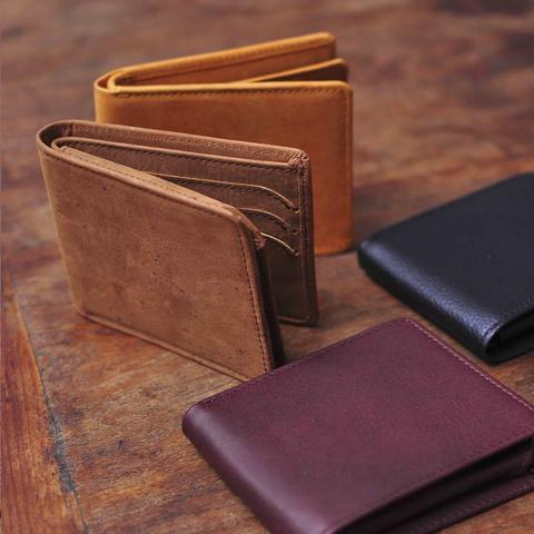 Bifold leather wallet cavcraft