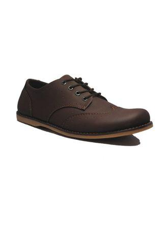D-Island Shoes Casual Oxford Woodley Leather
