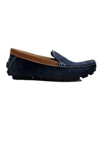 D-Island Shoes Moccasine Slip On Lacoste Suede