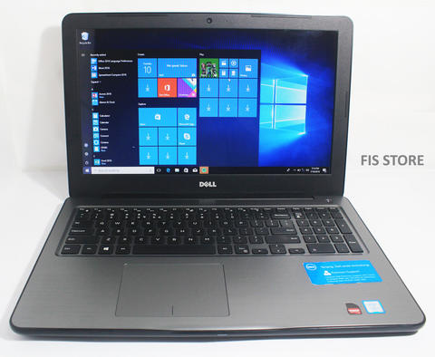 DELL Inspiron 5567 Core i5-7200 3.1GHz 8GB 1TB-SHD VGA AMD R7 M440 2GB