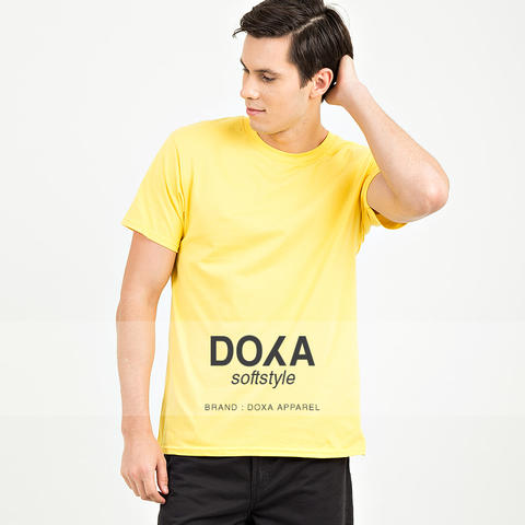 DISTRIBUTOR KAOS DOXA APPAREL SOFTSTYLE 100% COTTON COMBED 30'S
