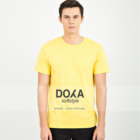 DISTRIBUTOR KAOS POLOS DOXA APPAREL SOFTSTYLE 100% COTTON COMBED 30'S