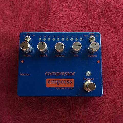 Empress Effects Compressor Bass Guitar Pedal
