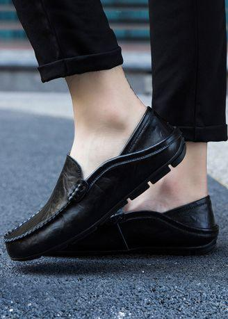 Men 's Casual Leather Loafers Shoes