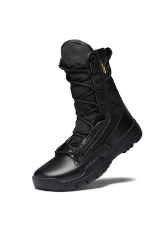 Men's Leather Military Tactical Boots