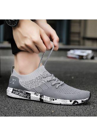 Men's Running Shoes Breathable Sneakers Mesh Soft Sole Casual Athletic Lightweight