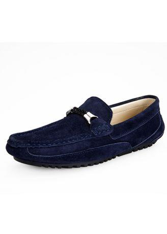 Men's Suede Leather Penny Loafers