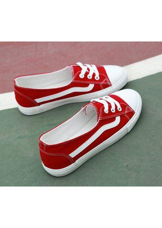 Ms. Joker Shallow mouth canvas shoes