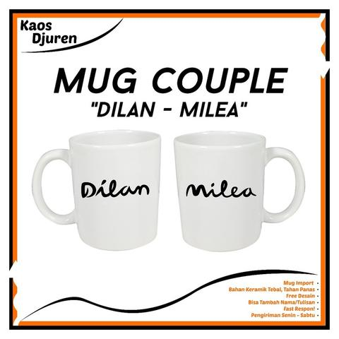 Mug Couple Dilan