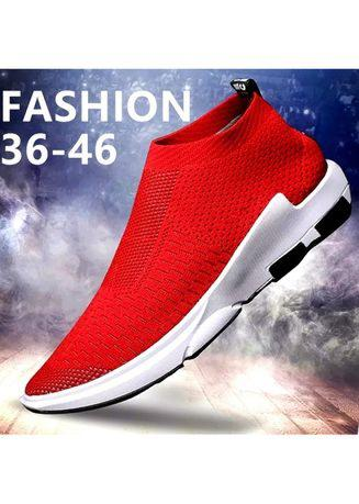 New Fashion Men Socks Shoes Casual Running Sport Shoes