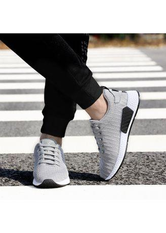 New Flying Weaving Men's Mesh Casual Shoes