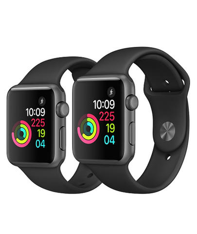 NEW SEGEL Apple Watch Series 1 38 mm Black / Hitam