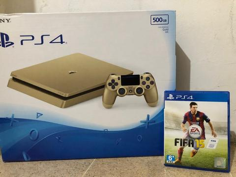 Playstation 4 - PS4 Slim Gold Limited Edition CUH 2006A Asia