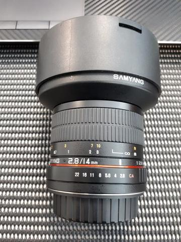 Samyang 14mm F2.8 ED AS IF For Canon