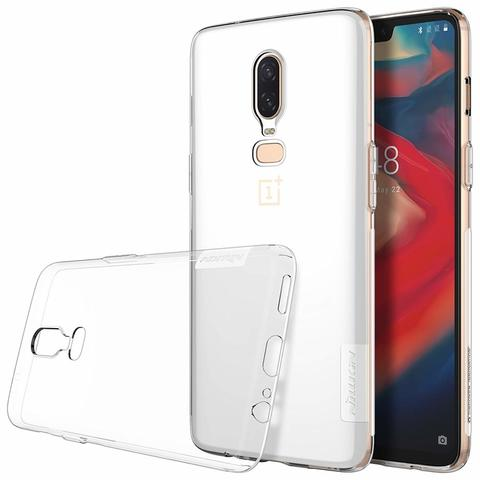 Silikon Soft Case Oneplus 6 / Oneplus Six / 1+6 - NILLKIN Nature Ultraslim 0.6mm