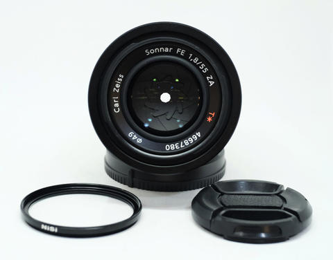 SONY CARL ZEISS SONNAR 55mm F1.8 FE ZA Muluus
