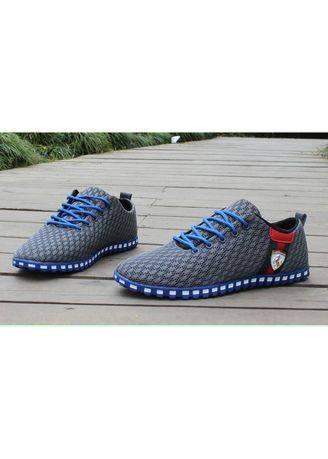 Summer Men's Trend Casual Hollow Mesh Lightweight Shoes