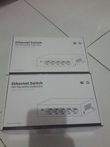 Switch Hub PoE 5 Port