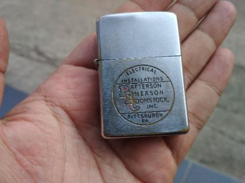 Zippo Vintage Advertise Electrical Installations