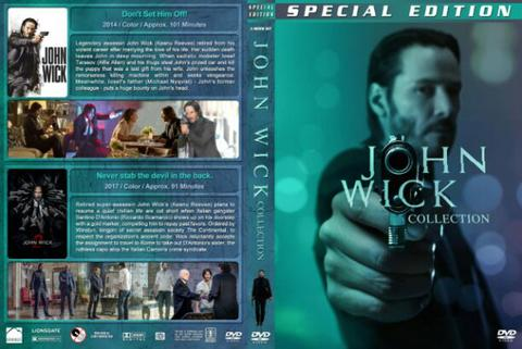 john wick dvd movie film collection boxset