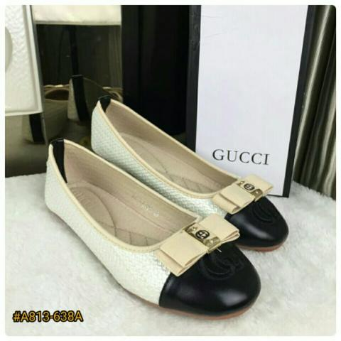 BESTSELLER IN STORE Sepatu Fashion Wanita Murah Flat Shoes PREMIUM QUALITY #A813-637A