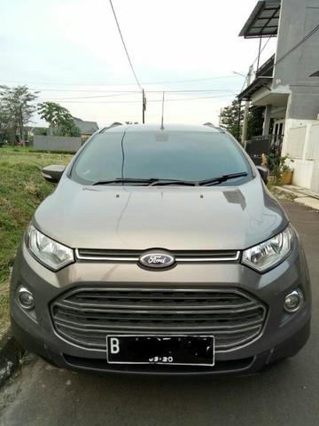 Ford Ecosport Titanium manual 2015