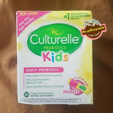 Culturelle Probiotics Kids 50 Packets